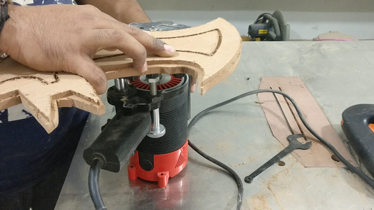 Material Cutting and Basic Shape.