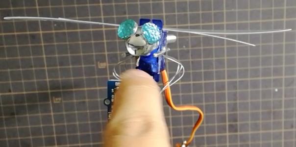 Head Swinging Dragonfly
