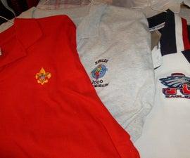 Shirt Pocket  for A Pocketless Shirt - Welt Style