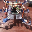 Hexapod Robot With Ruler Body Parts