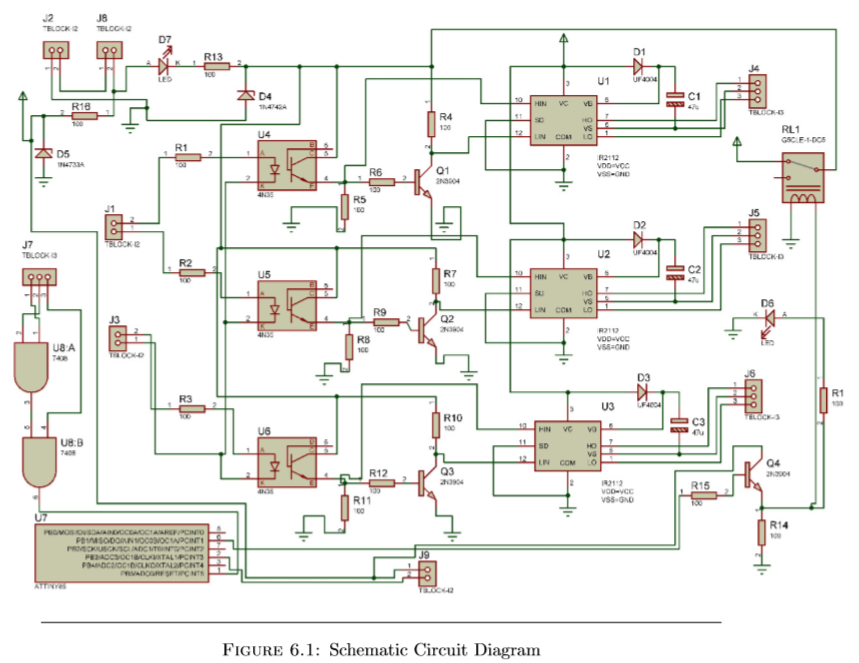 Picture of Schematic and PCB Layout
