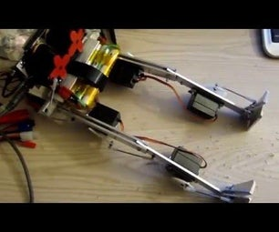 Twitchy Robot Legs With an Arduino