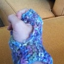 Fingerless Knitted Hand Warmers