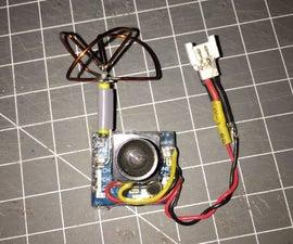DIY Micro FPV AV Transmitter 5.8GHz (FATSHARK compatible)