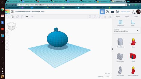 Create a 3D Pumpkin