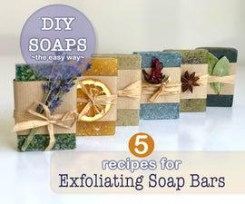 Exfoliating Soap Bars