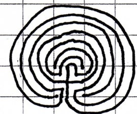Draw your own labyrinth.