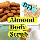 DIY Almond Body Scrub-For Gorgeous Skin in Winter- Winter Skin Care
