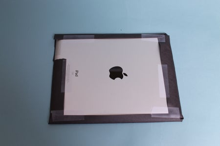 Cover Your IPad With Black Construction Paper