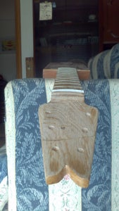 My Cigar Box Guitar With Rounded Fretboard
