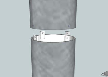 Step 5: Flue and Legs
