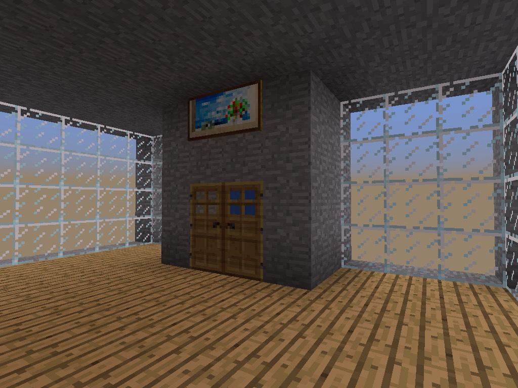Picture of Minecraft Pe Elevator