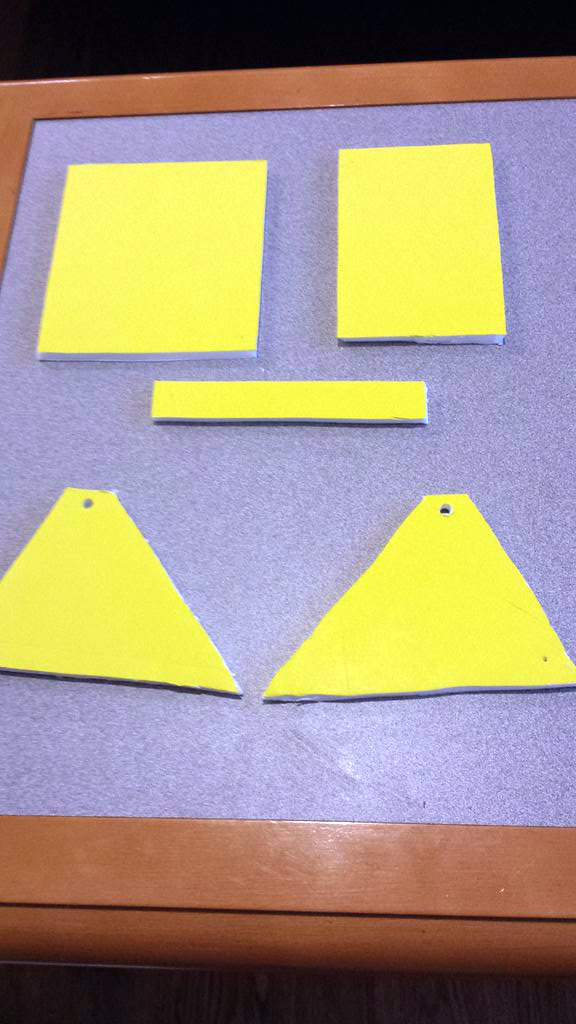 Picture of Cut Out Foam Pieces