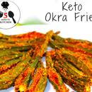 KETO OKRA FRIES (BAKED) | INDIAN KETO RECIPE | 5-Minute Kitchen