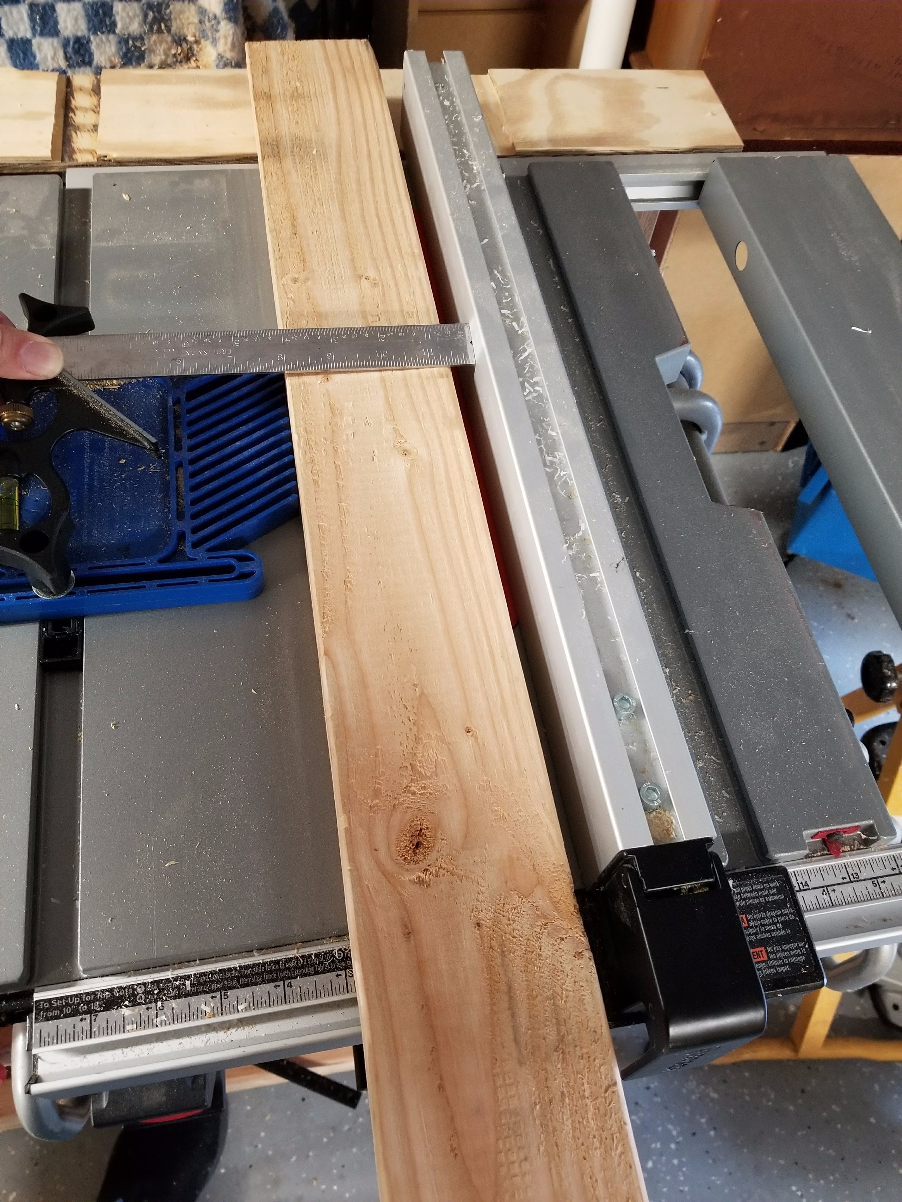 Picture of Cutting the Rails