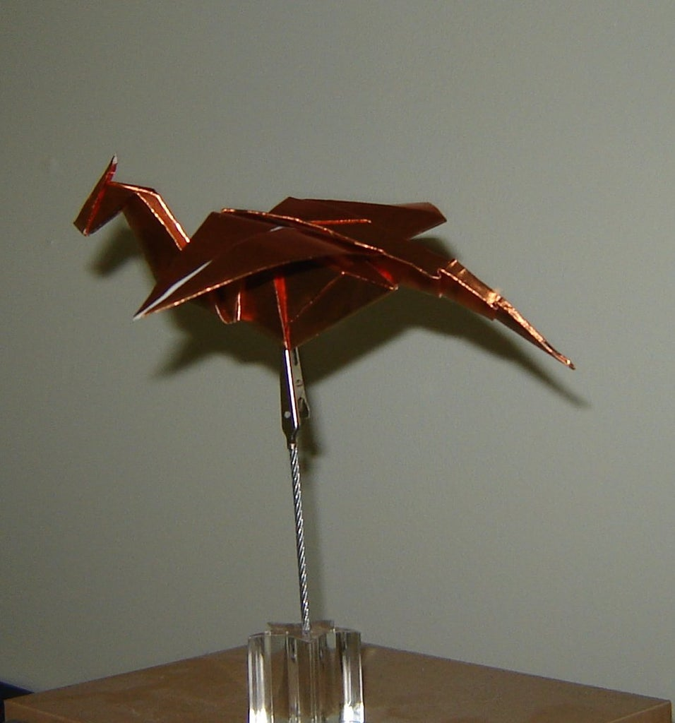 Origami Dragon Instructions: www.Origami-Fun.com - YouTube   1024x956