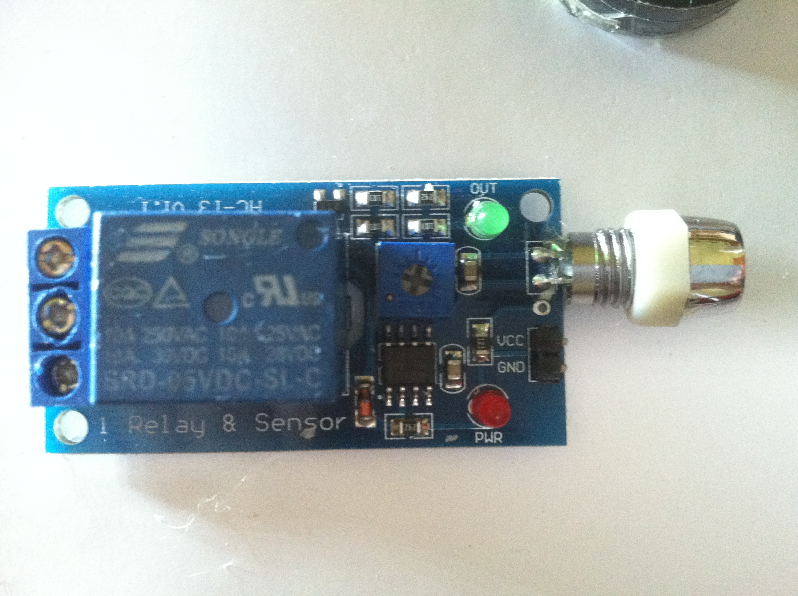 Picture of Flame Sensor + Relay Module