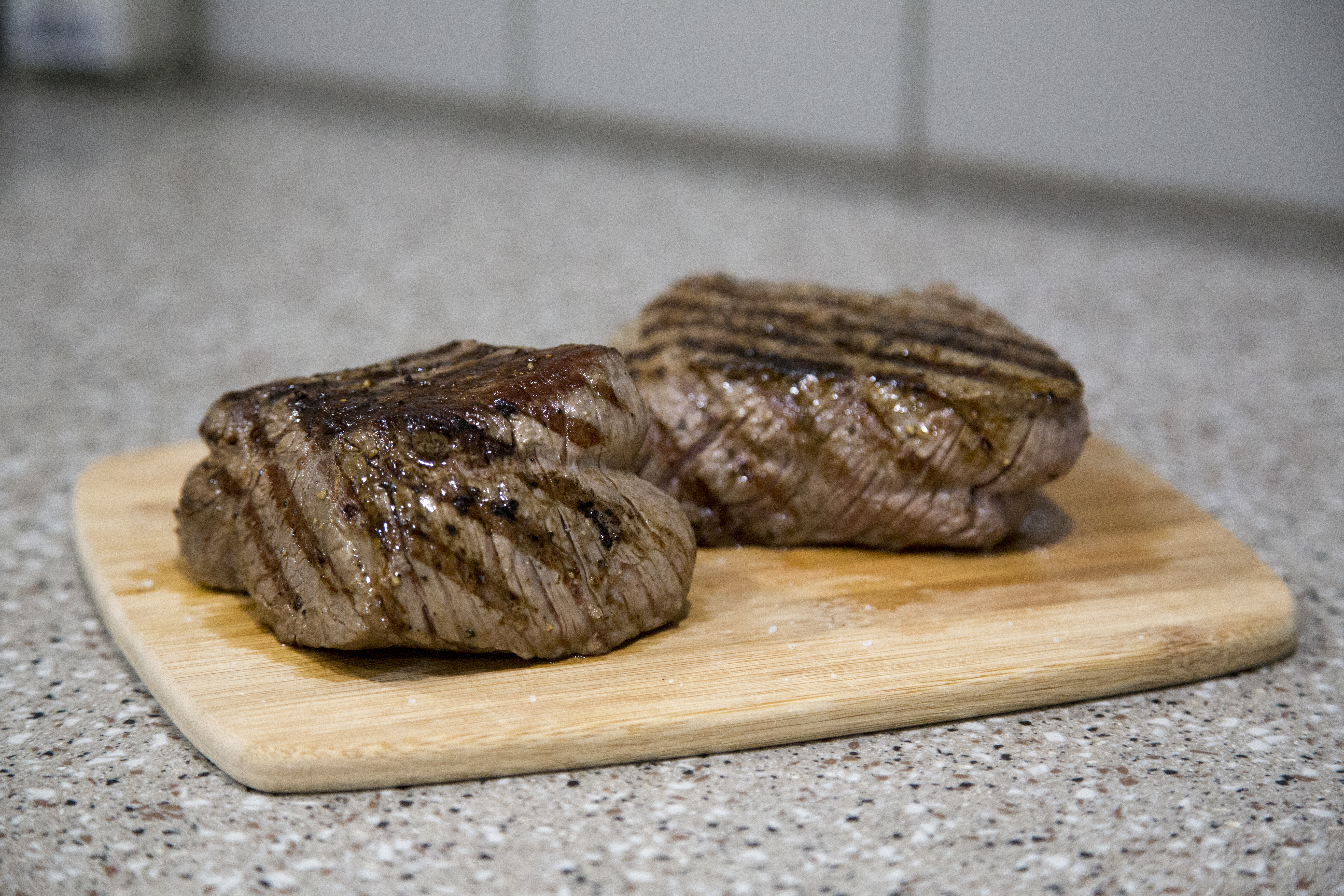 Picture of Cook the Steak... Nice and Slow...