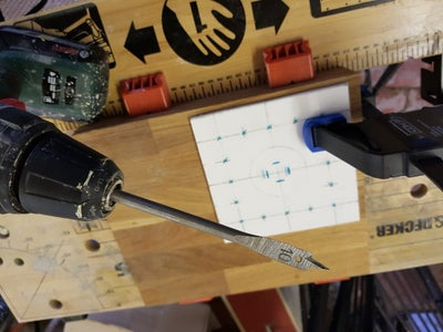 Cut Out the Mounting Board