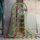 Eurofighter Lift: knex roller coaster