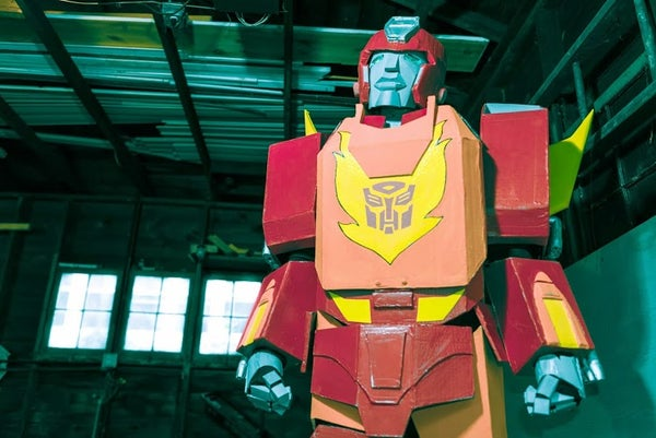 "How to Make a Transformers ""Hot Rod/ Rodimus Prime"" Costume"