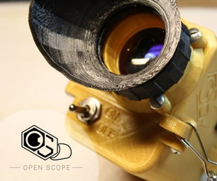 3D Printed Digital Night Vision (The OpenScope)