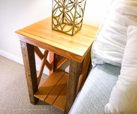 Reclaimed Lumber Nightstands