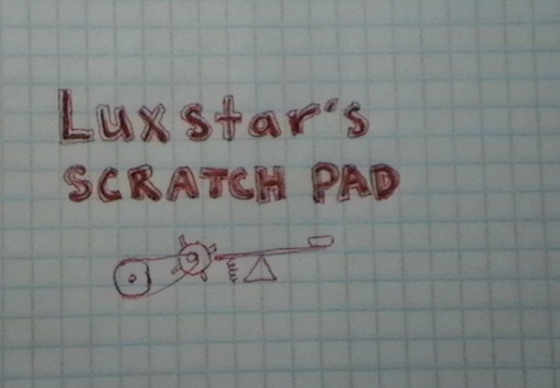 Picture of Luxstar's Scratch Pad