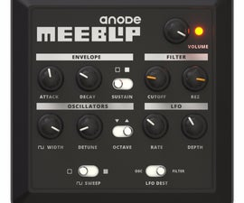 DIY Mini Bass Synth : Meeblip Anode