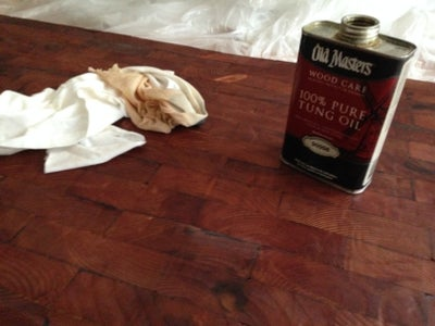 Oil and Waxing Wood