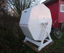 Cable Drum Compost Tumbler