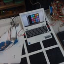 2x MakeyMakey Floor/Table Drumpad