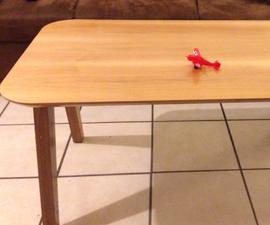 Round Corner CNC Children-proof Table Set