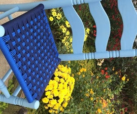 Weave Chair Seats With Paracord