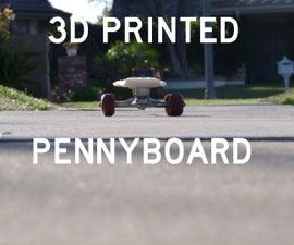 3D Penny Board
