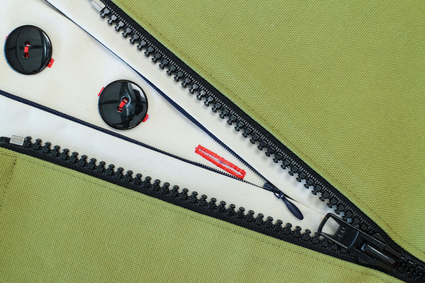 Sewing Zippers and Buttons