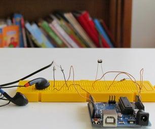 Arduino Optical Theremin