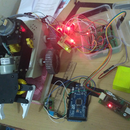 Wireless Crane Model (SMART BOT) With Spying Camera Over the Network(wifi or Hotspot)