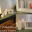 3D Pulled Glass Picture Frame