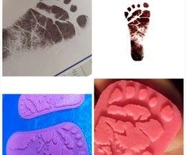 Welcoming a new little Maker with a 3D Footprint Keepsake