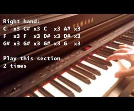 How to Play All of Me on Piano - Easy for Beginners: 3 Steps