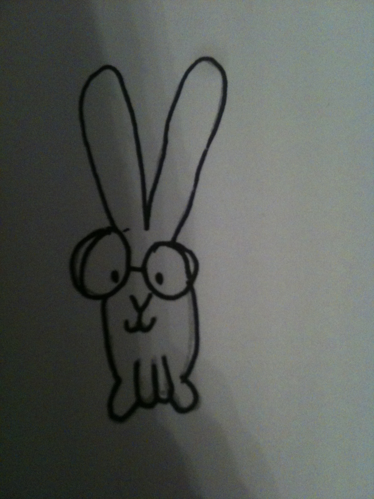 Picture of How to Draw a Cute Bunny