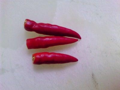 Prepare 3 Red Pepper