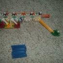 Automatic Knex Pistol