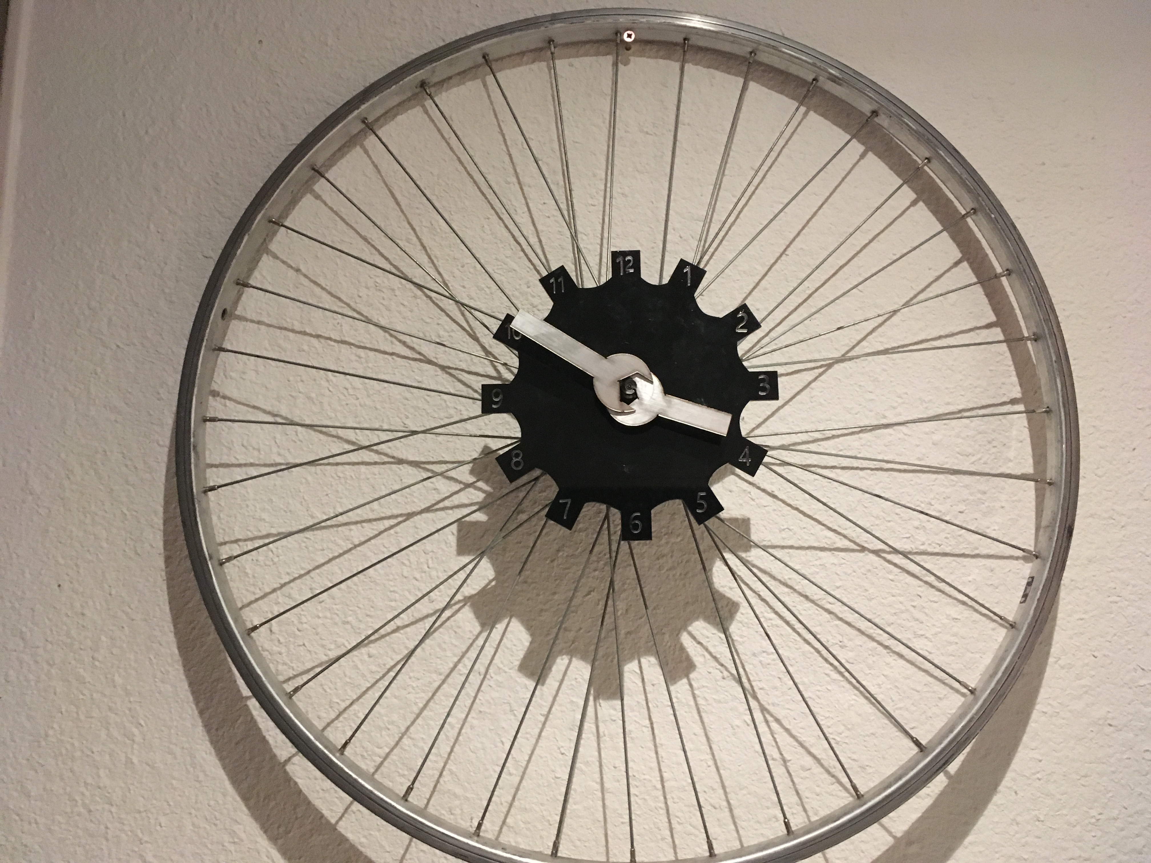 Picture of Bicycle Clock (with Unscrew-able Clock Mechanism)