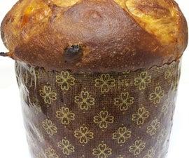 delicious and festive Panettone bread