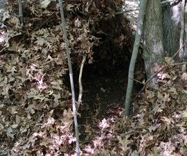 Leaf and Stick Fort