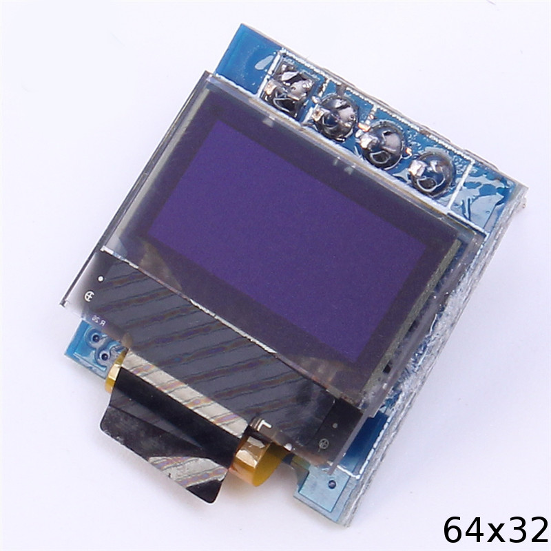 Picture of What OLED Modules Are We Going to Use?