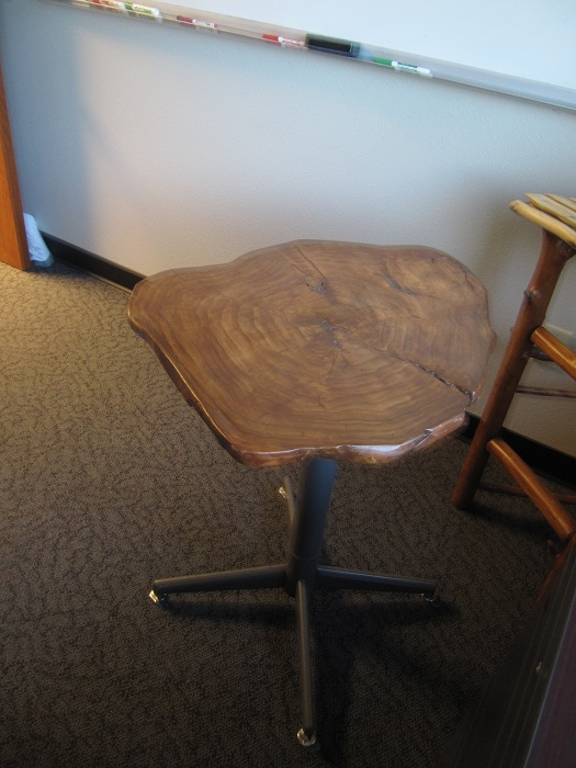 """Picture of A """"Butt"""" Table for the Office"""