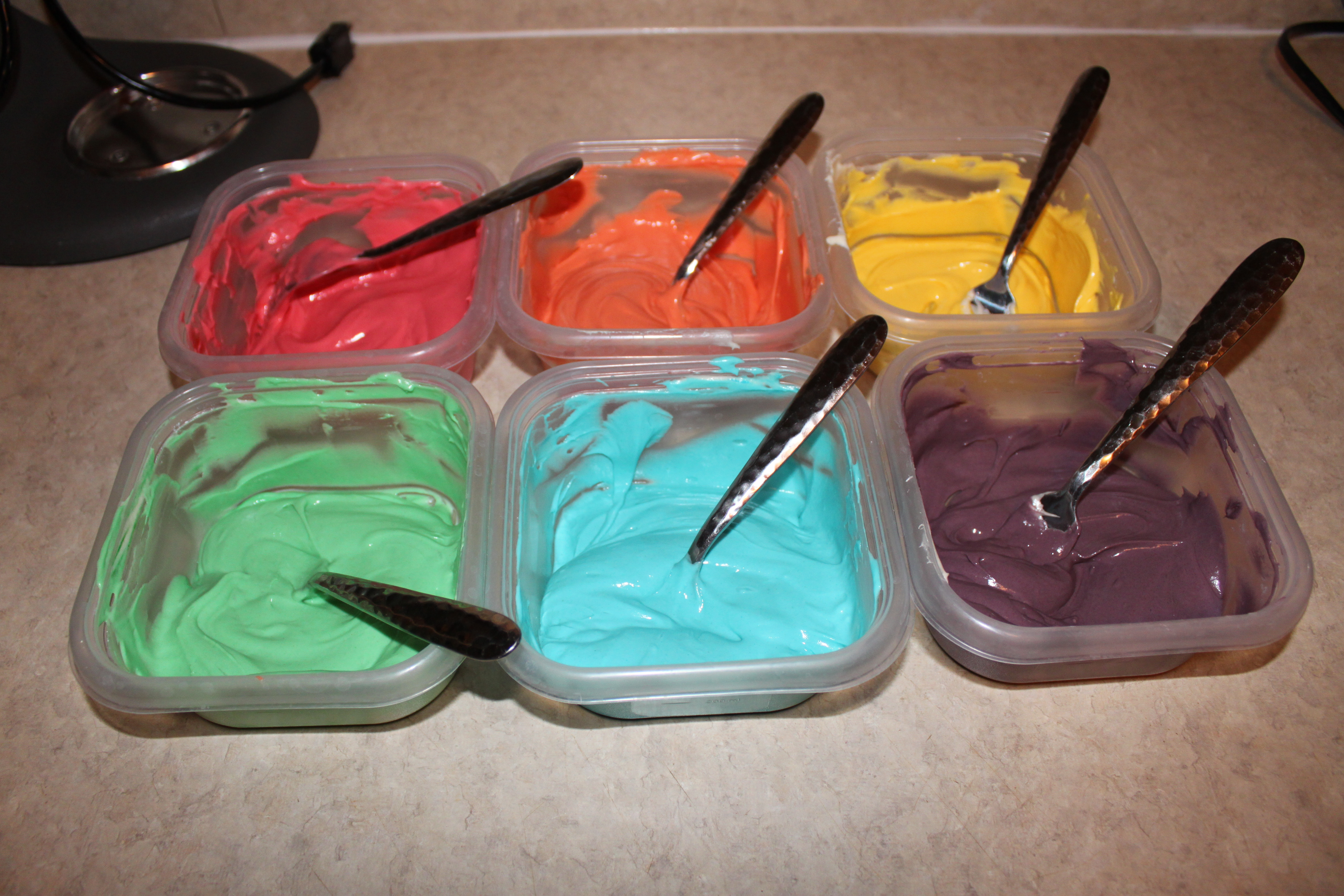 Picture of How to Make Awesome Rainbow Cupcakes